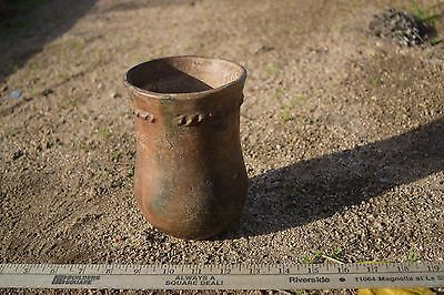 Vintage Navajo  olla/cylinder pot 1880s-early 1900s