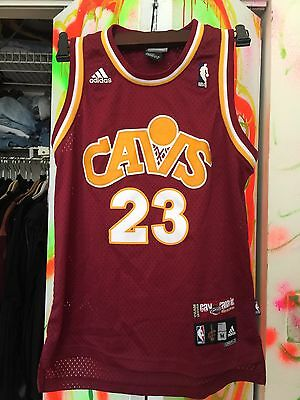 Adidas  Cavs Cavaliers Lebron James Nba Basketball Jersey Youth M