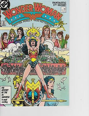 Wonder Woman #1 George Perez! Ares! New Origin! FREE SHIPPING AVAILABLE!