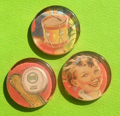Play Time - Glass Magnet Set