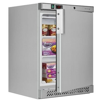 STAINLESS STEEL CATERING COMMERCIAL  UNDERCOUNTER FREEZER TEFCOLD @ £417+Vat