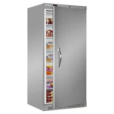 TEFCOLD UF550 STAINLESS STEEL UPRIGHT COMMERCIAL CATERING FREEZER @ £842+Vat