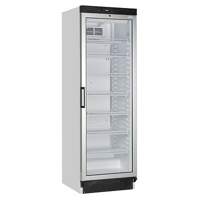 Tefcold Fs1380 Single Glass Door Fridge Food Drink Bottle Cooler Free Deliver