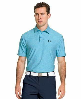 Under Armour Elevated Heather Polo Tee - Men's