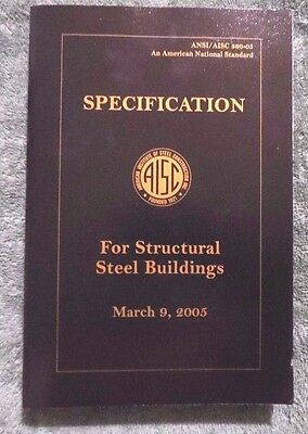 Specification For Structural Steel Buildings 2005 Amer Inst Steel Construction