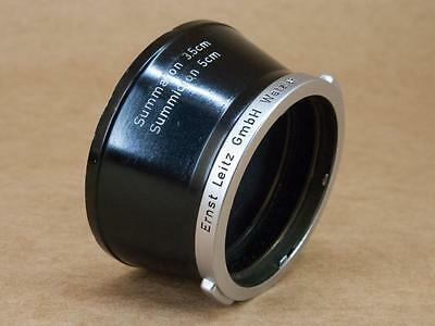 Leitz Leica ITDOO Lens Hood for 35mm Summaron & 50mm Summicron
