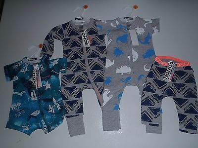 Bulk Lot Of Bonds, Boys, Wondersuit, Size 00, All Brand New With Tags!