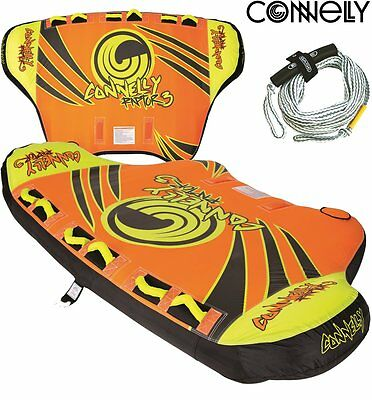 CONNELLY Rapor 3 Towable Tube for 3 Person Tow ring Inflatable Package