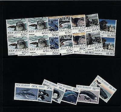 New Zealand / Ross Dependency Stamps - 2 x Decimal sets MNH
