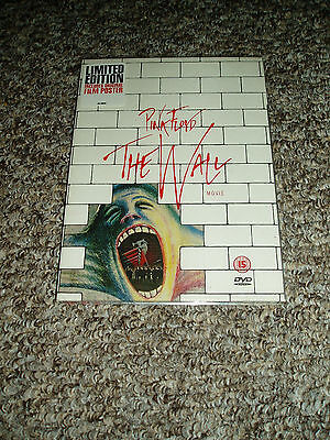 pink floyd  rare limited edition dvd the wall