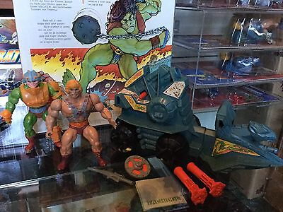Masters Of The Universe Motu Lotto He-Man Malesia ,man-at-arms 8back Battle Ram