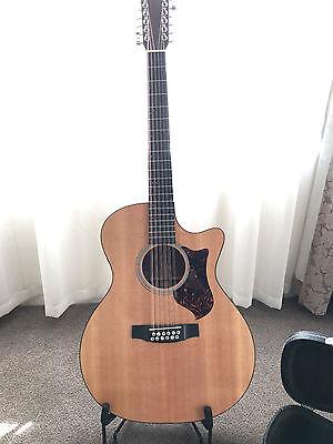 Martin GPC12PA4 12 String Guitar in Mint Condition. Upgraded Case
