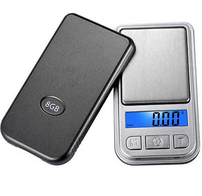 0.01g-100g Mini Ultrathin Jewelry Drug Digital Portable Pocket Scale R9