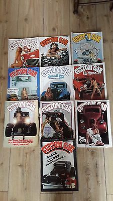 vintage/collectible -1978 Custom Car magazines..10 months.
