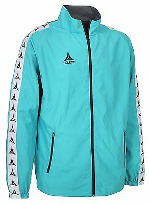 Select Ultimate Mens Track Jacket,turquoise, Medium, New+Sealed.