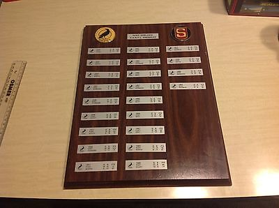 Port Adeladie Magpies Sanfl Premiers Plaque Football Club Official Product