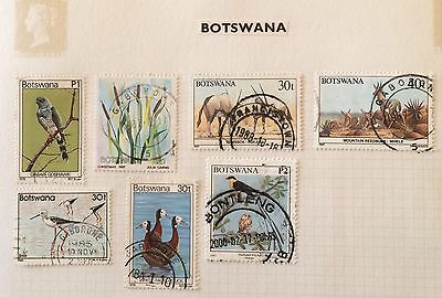 Botswana. A Selection Of Higher Values