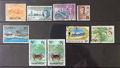 Dominica. Small Selection Inc SG60 Opt.