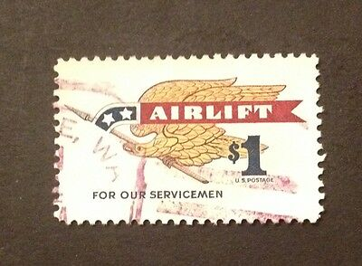 USA. SG 1325 $1 Airlift Special Issue. VFU