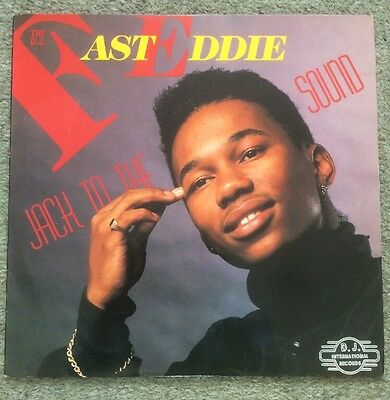 "The D.J. Fast Eddie - Jack to the Sound LP + Bonus 12"" Limited Edition"