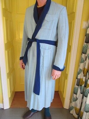 gents vintage dressing gown