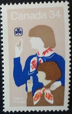 H1062-1 Girl Scout 1985 Mnh Canada