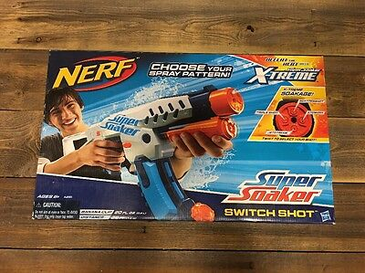 New Nerf Super Soaker Switch Shot X-Treme Soakage 25' Distance Choose Your Spray