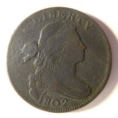 1802 Draped Bust Cent S-232 R-1