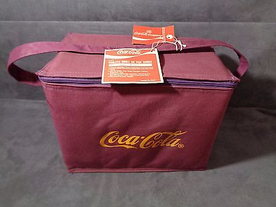 Vintage Coca-Cola Insulated Double 6-Pack Carrier - W/orig Tags.