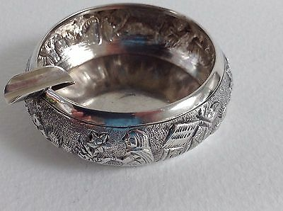 sterling silver indian ashtray