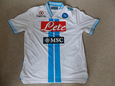 Napoli Serie A macron away shirt 2012-13 Adults large size