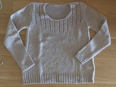 pull POLES gris clair,  taille S , neuf