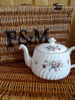 Minton Marlow bone china teapot perfect for Afternoon Tea