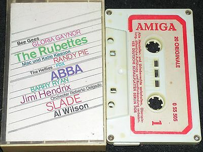 20 ORIGINALE Abba, Jimi Hendrix, Slade, Bee Gees, Hollies../ DDR MC AMIGA 055505