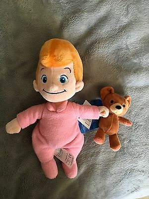 Disney Store Michael Darling soft plush doll.  New Tag Soft Toy Rare Peter Pan