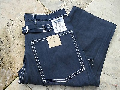 Quartermaster Denim Jeans 30er Jahre Style M-1929 Rockabilly US Army Trouser