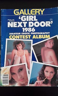 """Erotic Magazin """"Gallery"""" issued 1986"""