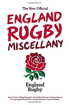 The New Official England Rugby Miscellany, Good Condition Book, Chris Hawkes, IS