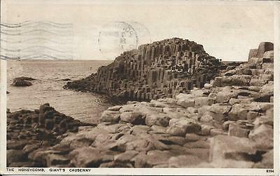 Old Postcard Giants Causeway The Honeycomb Antrim N Ireland