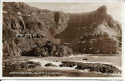 Old Postcard Amphitheatre Giants Causeway Antrim N Ireland