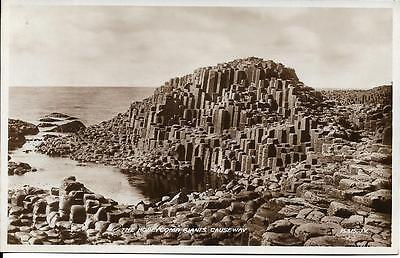 Old Postcard The Honeycomb Giants Causeway Antrim N Ireland