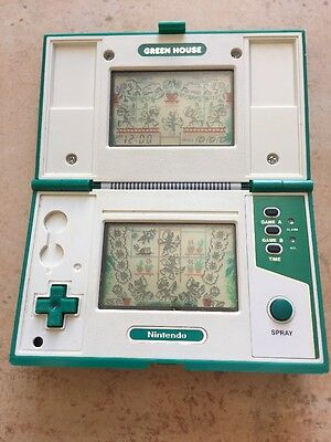Game and Watch Green House Nintendo