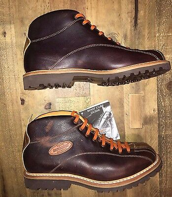 Zamberlan Men's 1121 CORTINA MID GW Brown Leather Boots, Size 8, Sample