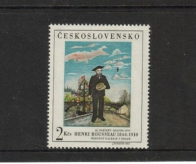 Czechoslovakia - 1967 U/mint Prague 68 Stamp Exhibition Issue.
