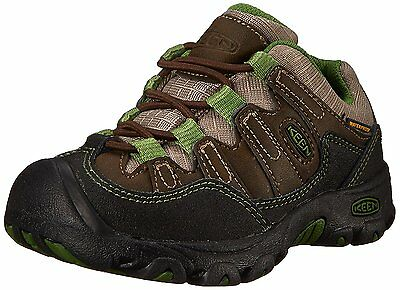 KEEN Pagosa Low WP Hiking Shoe Toddler/Little Kid, Cascade Brown/Treetop, 8 M US