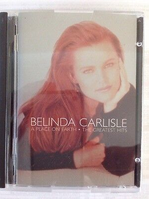 BELINDA CARLISLE A Place On Earth-The Greatest Hits MINIDISC
