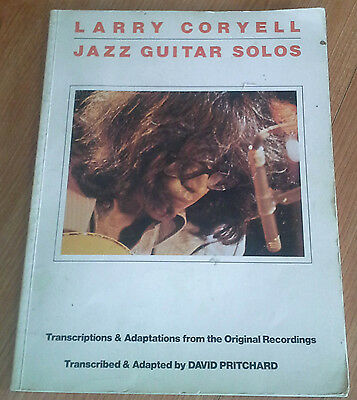 LARRY CORYELL Jazz Guitar Solos by David Pritchard 1980 US SONGBOOK