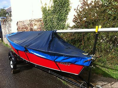 Classic Sailing Dinghy Beautifull Condition Includes 4Hp Mariner Outboard