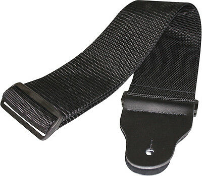 D'addario/planet Waves 75B000 - 3 Inch Poly Woven Bass Guitar Strap, New!