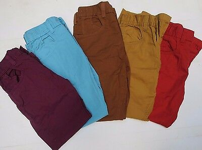 Boys chino trousers lightweight M & S age  5 6 7 8 9 10 11 12 13 years NEW